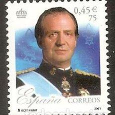 Sellos: ESPAÑA 2001. REY JUAN CARLOS I. EDIFIL Nº SH3856E. Lote 222043555