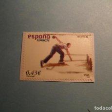 Sellos: ESPAÑA 2008 - JUEGOS Y DEPORTES - BOLO PALMA - EDIFIL 4421. Lote 222056052