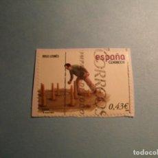 Sellos: ESPAÑA 2008 - JUEGOS Y DEPORTES - BOLO LEONES - EDIFIL 4421A.. Lote 222056271