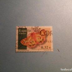 Sellos: ESPAÑA 2009 - FAUNA, HYPHORAIA DEJEANI - MARIPOSAS - EDIFIL 4466.. Lote 222057020