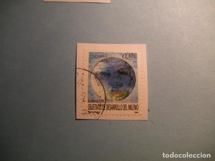 ESPAÑA 2009 - OBJETIVOS DE DESARROLLO DEL MILENIO - EDIFIL 4479. (Sellos - España - Juan Carlos I - Desde 2.000 - Usados)