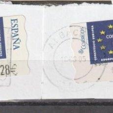 Sellos: 2005 ATM CONSTITUCION EUROPEA . 2 DE VALOR 0,28. Lote 222071830