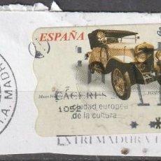 Sellos: 2003 ATM COCHES DE EPOCA HISPANO SUIZA 1910. Lote 222072447