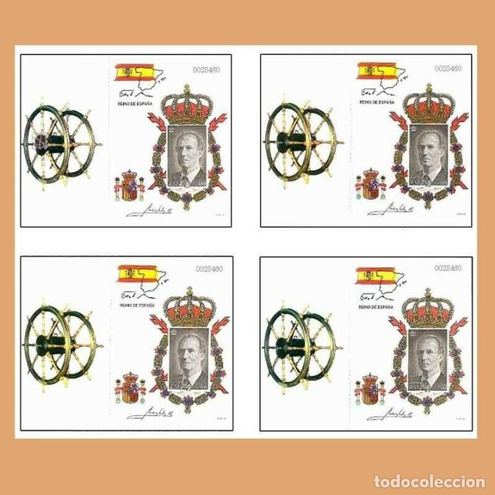 Sellos: Edifil 3544C carnet Rey Juan Carlos año 1988 edicion Especial sellos España - Foto 2 - 222074387