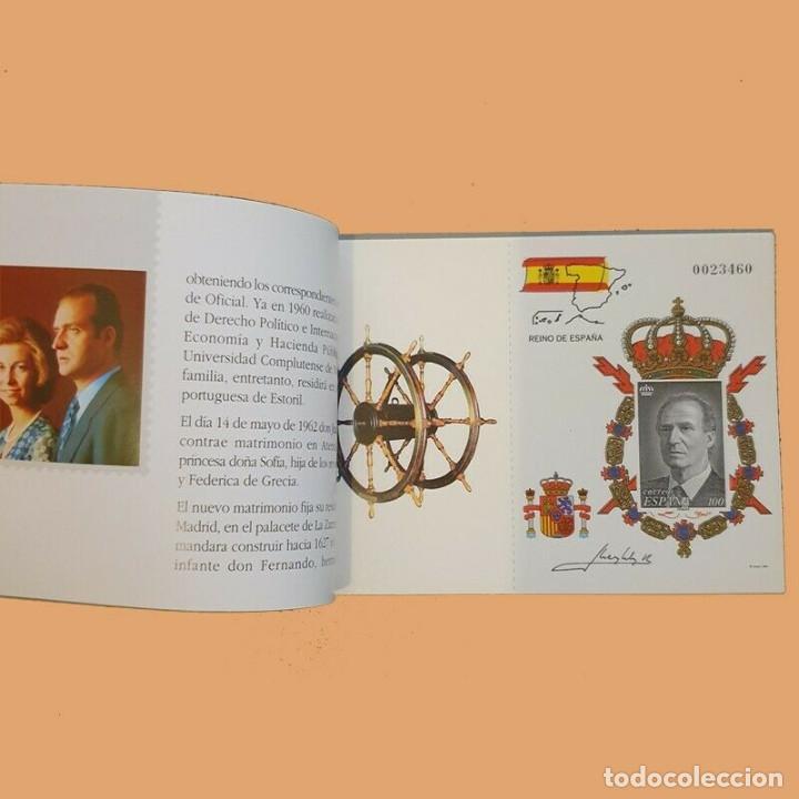 Sellos: Edifil 3544C carnet Rey Juan Carlos año 1988 edicion Especial sellos España - Foto 6 - 222074387