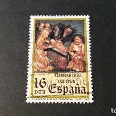 Sellos: SELLO USADO. NAVIDAD 1983. NATIVIDAD TORTOSA (TARRAGONA). EDIFIL 2729.. Lote 222223410