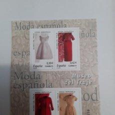 Sellos: ESPAÑA AÑO 2007 H.B. Nº 4354 MODA ESPAÑOLA NUEVA. Lote 222248111