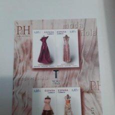 Sellos: ESPAÑA AÑO 2012 H.B. Nº 4745 MODA ESPAÑOLA NUEVA. Lote 222248337