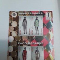 Sellos: ESPAÑA AÑO 2013 H.B. Nº 4813 MODA ESPAÑOLA NUEVA. Lote 222248371