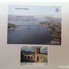Sellos: ESPAÑA AÑO 2013 Nº 4794/5 PUENTES ESPAÑA SERIE NUEVA. Lote 222248636