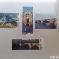 Sellos: ESPAÑA AÑO 2013 Nº 4803/6 PUENTES ESPAÑA SERIE NUEVA. Lote 222248673