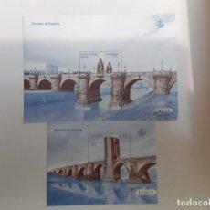 Sellos: ESPAÑA AÑO 2013 Nº 4825/6 PUENTES ESPAÑA SERIE NUEVA. Lote 222248805