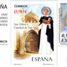 Sellos: ESPAÑA 2013 (4808-4810) PERSONAJES (NUEVO). Lote 222253892