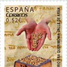 Sellos: ESPAÑA 2013 (4812) EFEMERIDES, VALLE DE ARAN (NUEVO). Lote 222256062