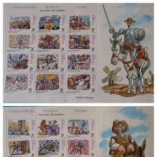 Sellos: ESPAÑA 1998. EDIFIL MP61A, MP61B MNH - CORRESPONDENCIA EPISTOLAR ESCOLAR. Lote 222286946