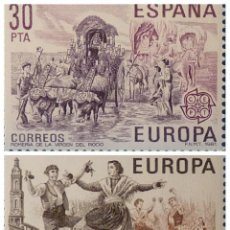 Sellos: ESPAÑA 1981. EDIFIL 2615/2616. NUEVOS. EUROPA. Lote 222290917