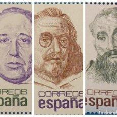 Sellos: ESPAÑA 1981. EDIFIL 2618/2620. MNH. CENTENARIOS.. Lote 222291043