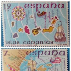 Sellos: ESPAÑA 1981 - EDIFIL 2622-23 - ESPAÑA INSULAR. Lote 222291215