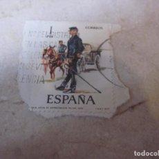 Sellos: SELLO USADO 1 PESETA ESPAÑA 1977 - OFICIAL DE ADMINISRACION MILITAR 1875. Lote 222298123