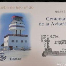 Sellos: ESPAÑA AVIACIÓN PRUEBA OFICIAL EDIFIL NUM 82. Lote 222411250