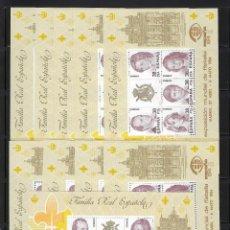 Sellos: ESPAÑA. AÑO 1984. EXPOSICIÓN MUNDIAL FILATELIA. ESPAÑA 84./10 H.B.. Lote 222511525