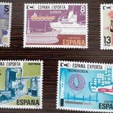 Sellos: ESPAÑA EXPORTA - 1980. Lote 222643811