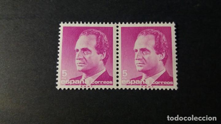 SELLO USADO. SERIE BÁSICA REY JUAN CARLOS. 5 PESETAS. 12 DE JUNIO DE 1985. EDIFIL 2795. (Sellos - España - Juan Carlos I - Desde 1.975 a 1.985 - Usados)