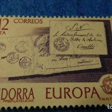 Sellos: SELLO SIN CIRCULAR, ANDORRA, EUROPA 1979. Lote 222719623