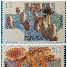 Sellos: ESPAÑA 1995 EDIFIL 3341/3342 SETAS MNH. Lote 222730237