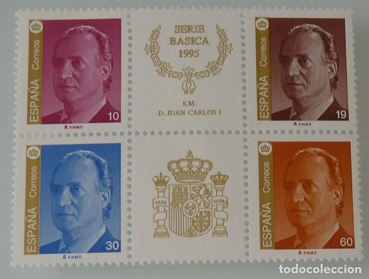 ESPAÑA 1995 EDIFIL 3378A-3381A JUAN CARLOS I MNH (Sellos - España - Juan Carlos I - Desde 1.986 a 1.999 - Nuevos)