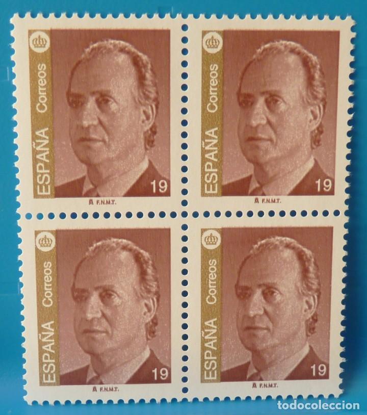 ESPAÑA 1995 EDIFIL 3379 JUAN CARLOS I MNH BLOQUE DE 4 (Sellos - España - Juan Carlos I - Desde 1.986 a 1.999 - Nuevos)