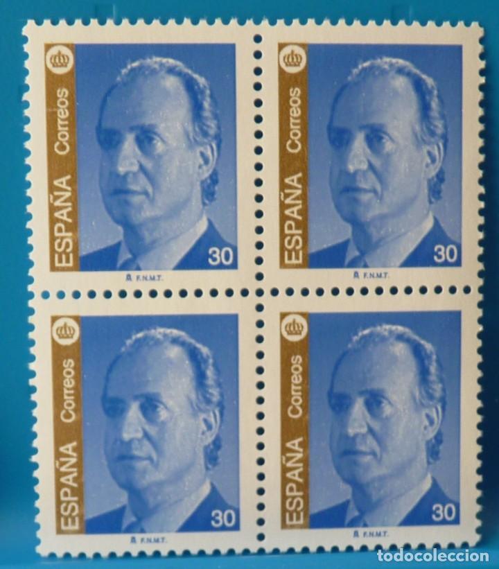 ESPAÑA 1995 EDIFIL 3380 JUAN CARLOS I MNH BLOQUE DE 4 (Sellos - España - Juan Carlos I - Desde 1.986 a 1.999 - Nuevos)