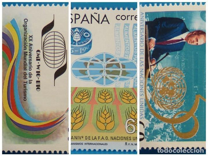 ESPAÑA 1995 EDIFIL 3382/3384 ORGANISMOS INTERNACIONALES MNH (Sellos - España - Juan Carlos I - Desde 1.986 a 1.999 - Nuevos)