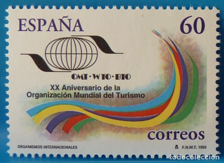 Sellos: ESPAÑA 1995 EDIFIL 3382/3384 ORGANISMOS INTERNACIONALES MNH - Foto 3 - 222750753