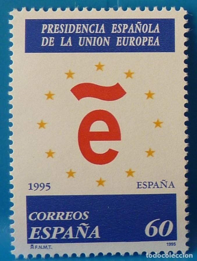 ESPAÑA 1995 EDIFIL 3385 PRESIDENCIA ESPAÑOLA DE LA UNION EUROPEA MNH (Sellos - España - Juan Carlos I - Desde 1.986 a 1.999 - Nuevos)
