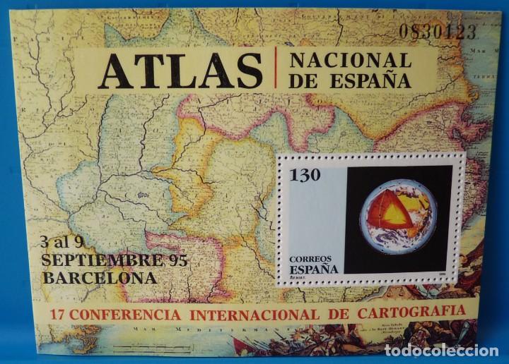 ESPAÑA 1995 EDIFIL 3388 CONFERENCIA INTERNACIONAL DE CARTOGRAFIA MNH (Sellos - España - Juan Carlos I - Desde 1.986 a 1.999 - Nuevos)