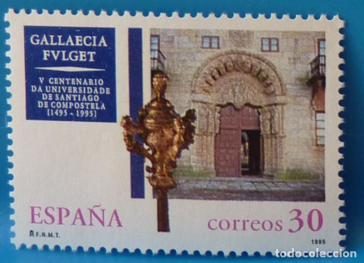 ESPAÑA 1995 EDIFIL 3389 V CENTENARIO UNIV. SANTIAGO DE COMPOSTELA MNH (Sellos - España - Juan Carlos I - Desde 1.986 a 1.999 - Nuevos)