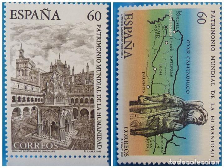 ESPAÑA 1995 EDIFIL 3390/3391 PATRIMONIO MUNDIAL DE LA HUMANIDAD MNH (Sellos - España - Juan Carlos I - Desde 1.986 a 1.999 - Nuevos)