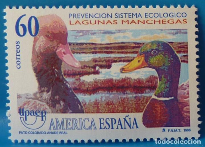 ESPAÑA 1995 EDIFIL 3394 UPAEP AMERICA-ESPAÑA MNH (Sellos - España - Juan Carlos I - Desde 1.986 a 1.999 - Nuevos)
