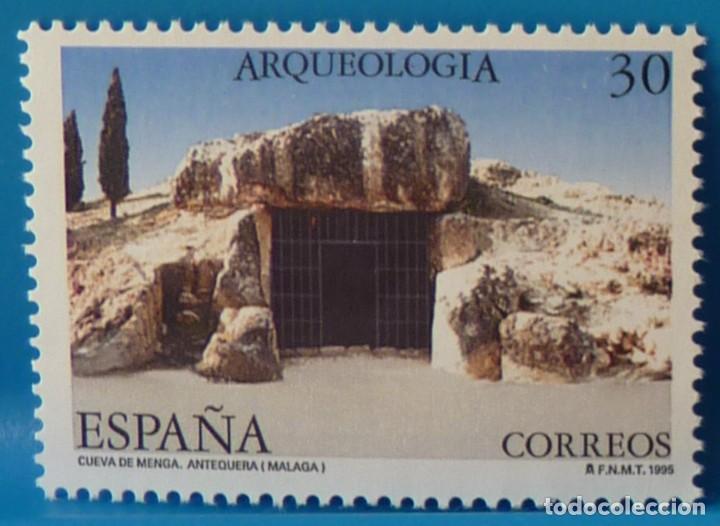 Sellos: ESPAÑA 1995 EDIFIL 3395/3396 ARQUEOLOGIA MNH - Foto 3 - 222753463