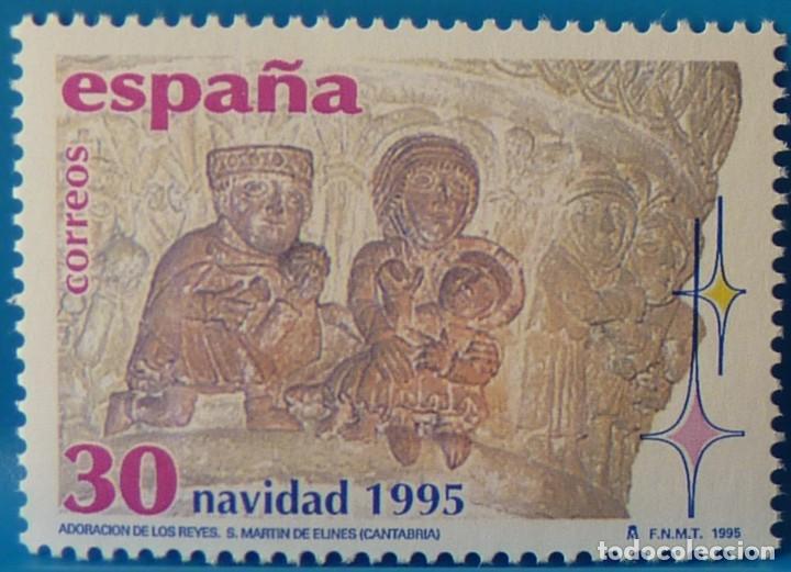 ESPAÑA 1995 EDIFIL 3402 NAVIDAD MNH (Sellos - España - Juan Carlos I - Desde 1.986 a 1.999 - Nuevos)