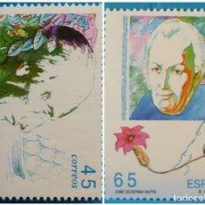 Selos: ESPAÑA 1993 EDIFIL 3267/3268 EXPLORADORES Y NAVEGANTES MNH. Lote 222901463