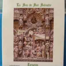 Francobolli: ESPAÑA 1998 EDIFIL 3595 LA SEO DE SAN SALVADOR ZARAGOZA MNH HOJITA.. Lote 223939880