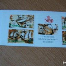 Sellos: ESPAÑA 1990 CARNET DESCUBRIMIENTO EDIFIL CARNET 3079 PERFECTO. Lote 251381335