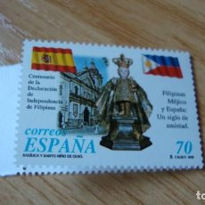 Sellos: ESPAÑA 1998 CENTENARIO FILPINAS EDIFIL 3552 NUEVO SIN CHARNELAS. Lote 223966975