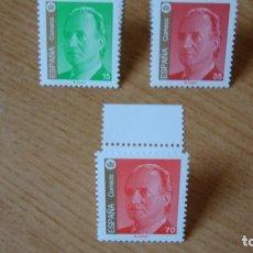 Sellos: ESPAÑA 1998 D. JUAN CARLOS EDIFIL 3526/28 NUEVOS SIN CHARNELAS. Lote 223969725