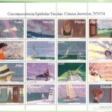 Sellos: HB 2004. COMICS JUVENILES. 4 SELLOS DE 0,27 EUROS. 30% DESCUENTO. Lote 254265625