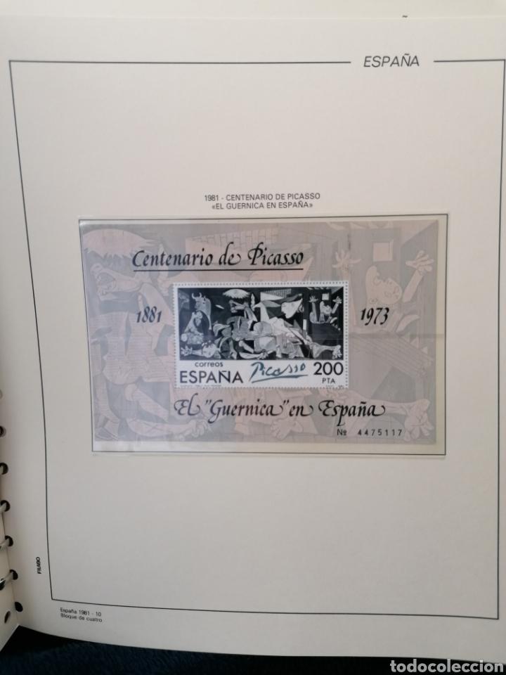 Sellos: España Año completo 1981 en bloque de 4 nuevo *** Edifil 2599/2643 - Foto 4 - 224176737