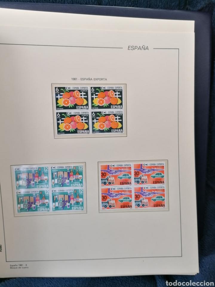 Sellos: España Año completo 1981 en bloque de 4 nuevo *** Edifil 2599/2643 - Foto 6 - 224176737