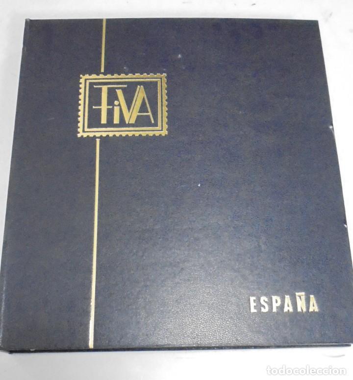 ALBUM FIVA. ESPAÑA 1983 - 1991. SELLOS Y BLOQUES. COMPLETO DE HOJAS NO DE SELLOS. VER FOTOS (Sellos - España - Juan Carlos I - Desde 1.975 a 1.985 - Nuevos)